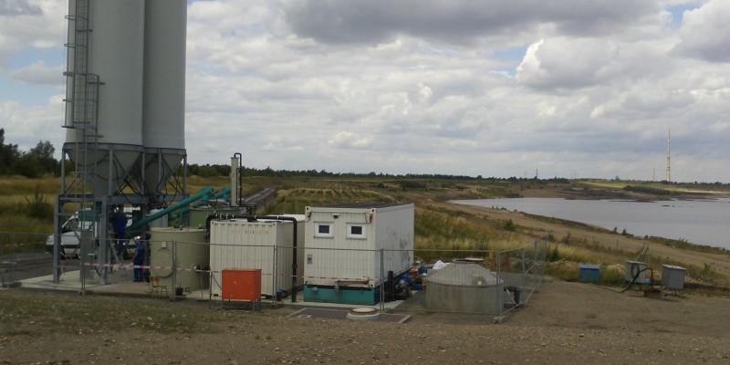 Grubenwasserreinigungsanlage