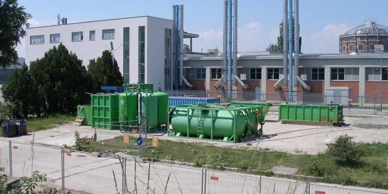 Mobile Grundwasserbehandlungsanlage