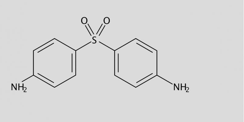 Strukturformel von Dapsone