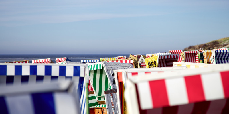 Strandkörbe an Ostseestrand