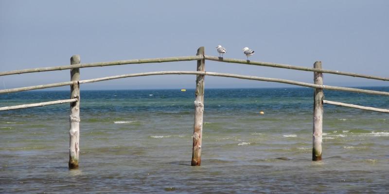 Aufnahme Ostsee bei Prerow