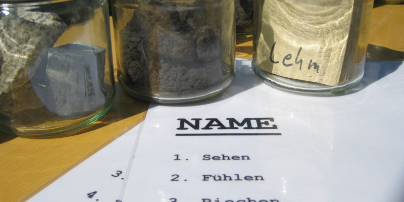 Photo of soils in a glas.