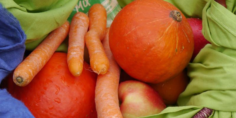 Foto Gemüse im Korb