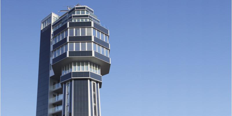 modernes Turm-Hotel
