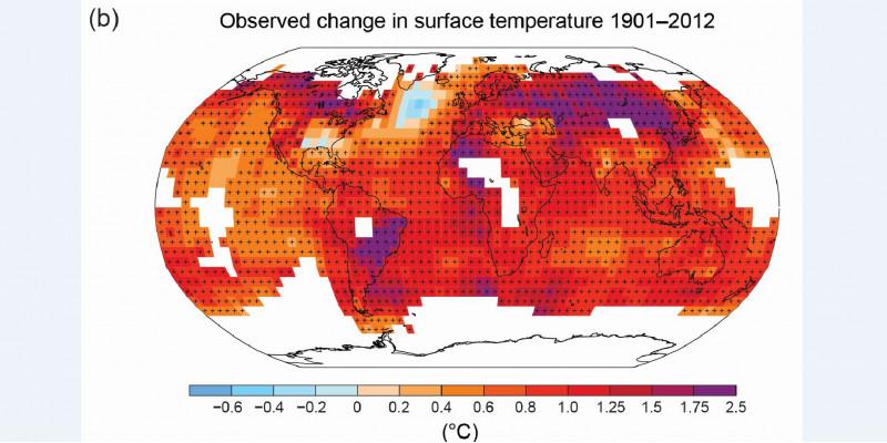 Weltkarte, die meisten Regionen sind rot eingefärbt, einige orange, lila oder weiß