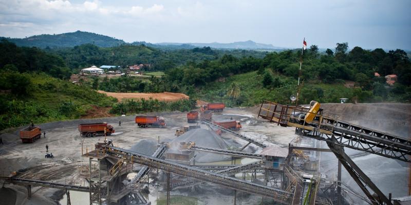 raw material mining