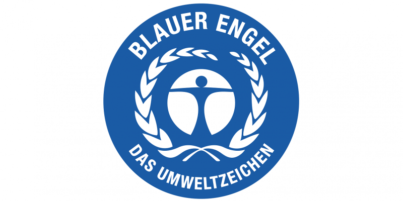 Logo of the Blue Angel ecolabel