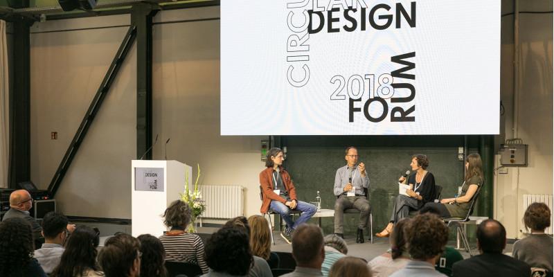 Discussion panel at the Circular Design Forum 2018