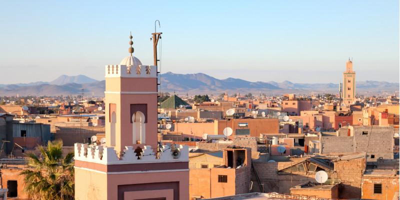 Stadt Marrakesch