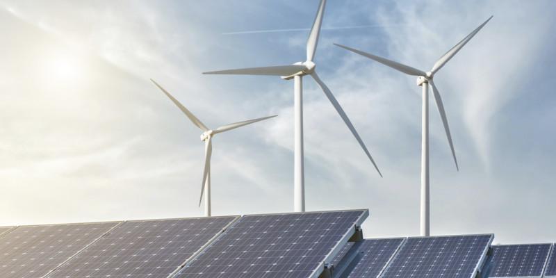 Solar- und Windpark