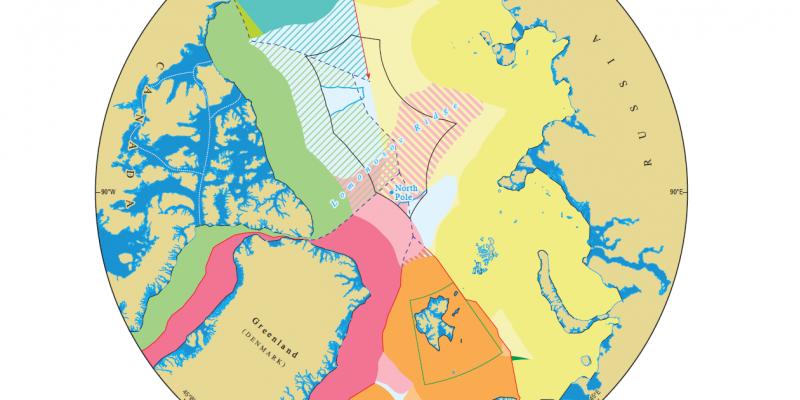 Gebietsansprüche Arktis