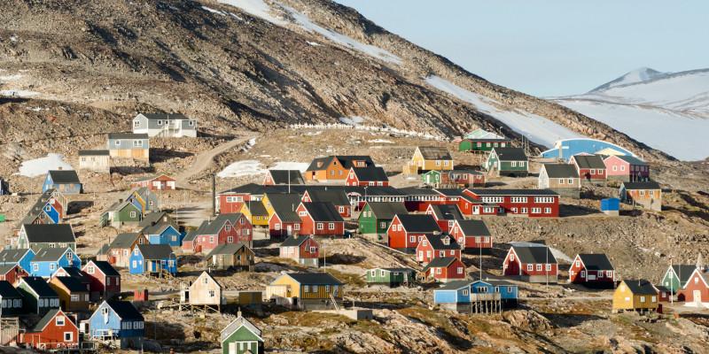 Ittoqqortoormiit - Dorf auf Grönland