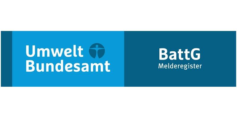 Logo BattG und UBA-Logo