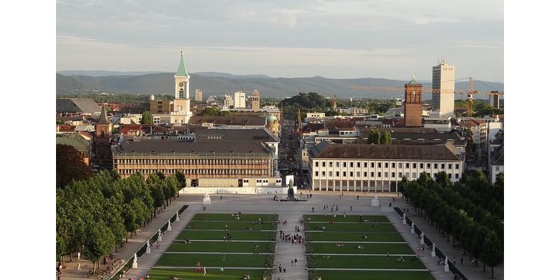 Schlossgarten in Karlsruhe