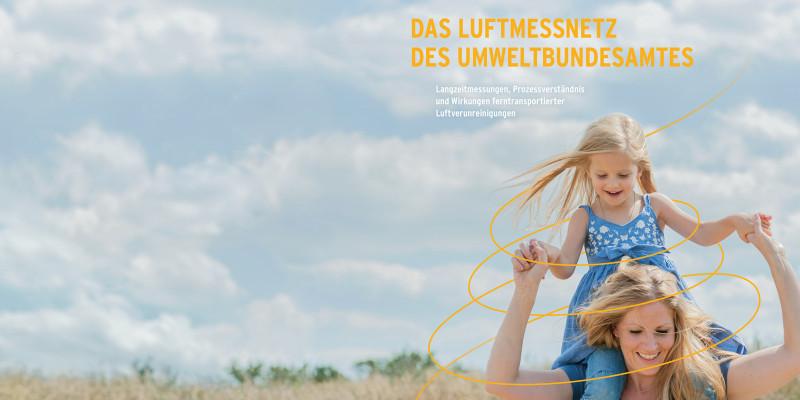 Coverausschnitt Das Luftmessnetz des Umweltbundesamtes