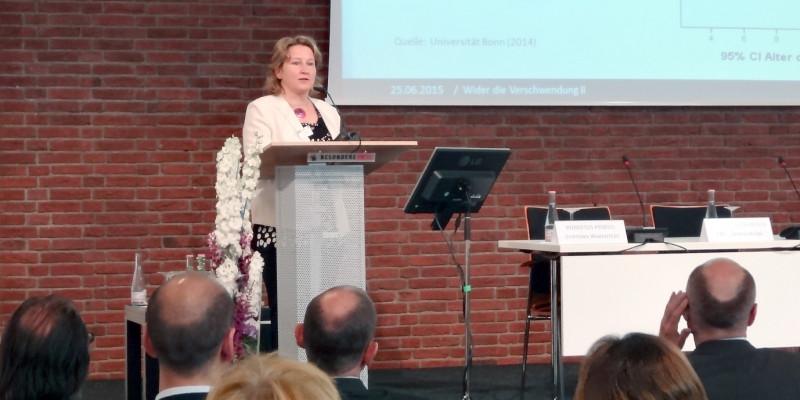 Wider die Verschwendung II - Frau Dr. Oehme, UBA