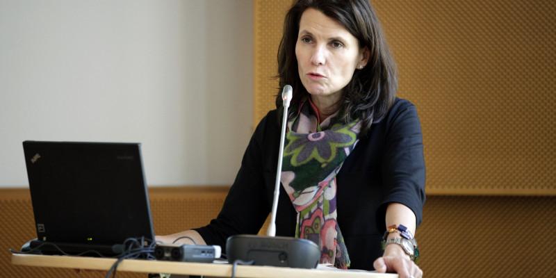 Parlamentarische Staatssekretärin Rita Schwarzelühr-Sutter