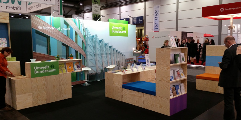 Der Stand auf der Leipziger Buchmesse 2015