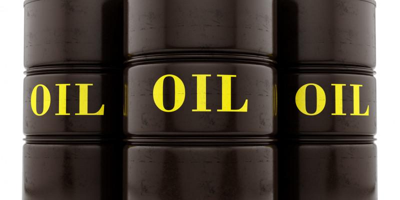Three barrels of waste oil