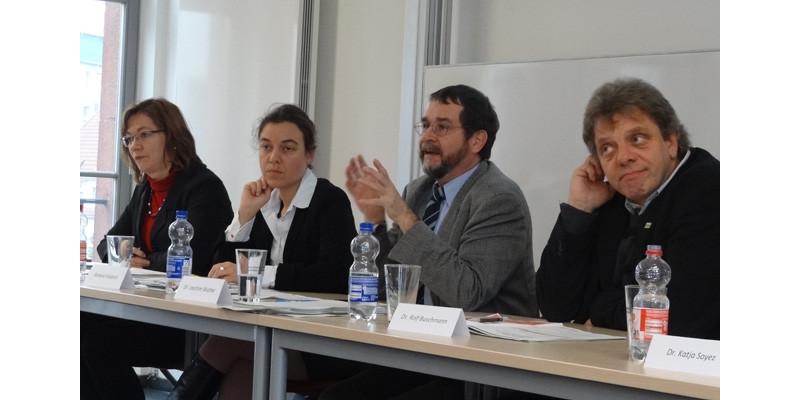 """Veranstaltung """"Lebensmittelabfälle vermeiden – aber wie"""", Diskussion"""