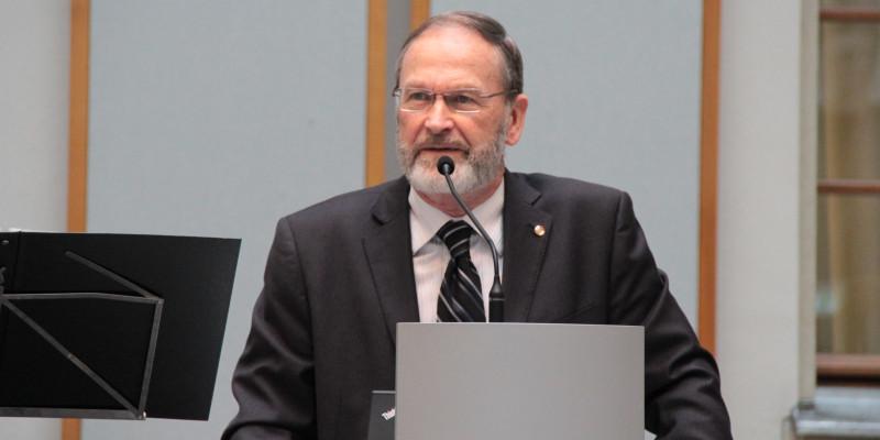 Prof. William Rees; Professor Emeritus der Universität British Columbia, Canada