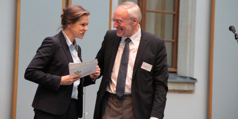 Tanja Busse (moderation) and Prof. Alois Heißenhuber (TU Munich)
