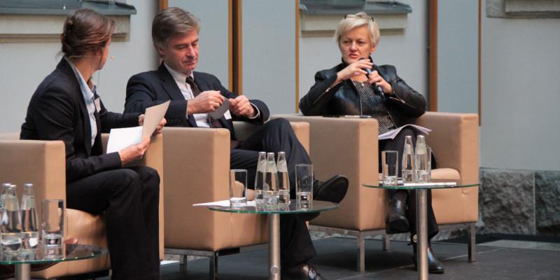 Tanja Busse, MdB Matern von Marschall (CDU), MdB Renate Künast (Bündnis 90 Grüne)