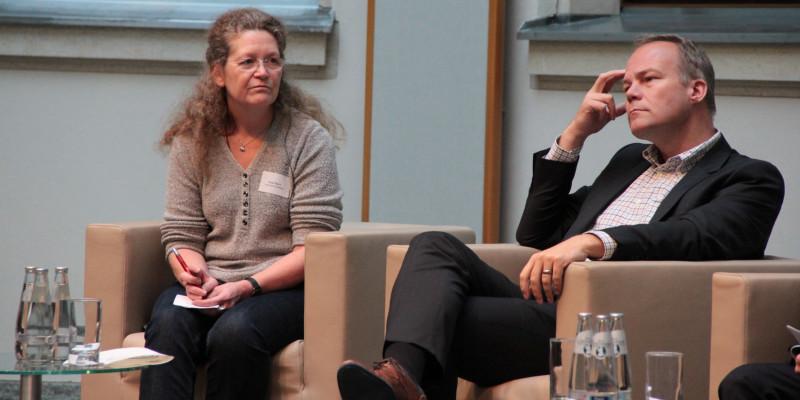 Birgit Menz (Linke); Matthias Miersch (SPD)