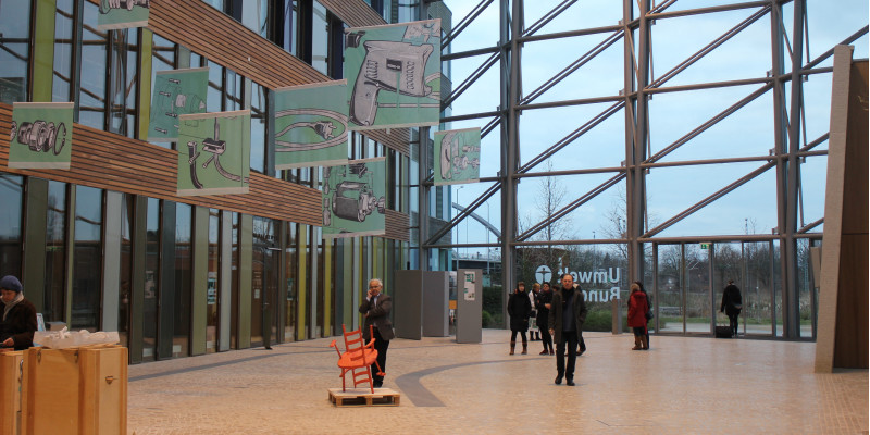 Ausstellungseröffnung im UBA in Dessau