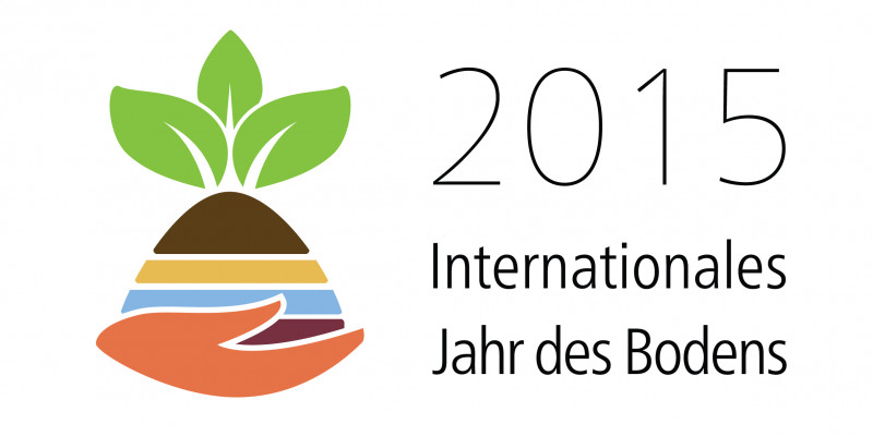 Logo Internationales jahr des Bodens