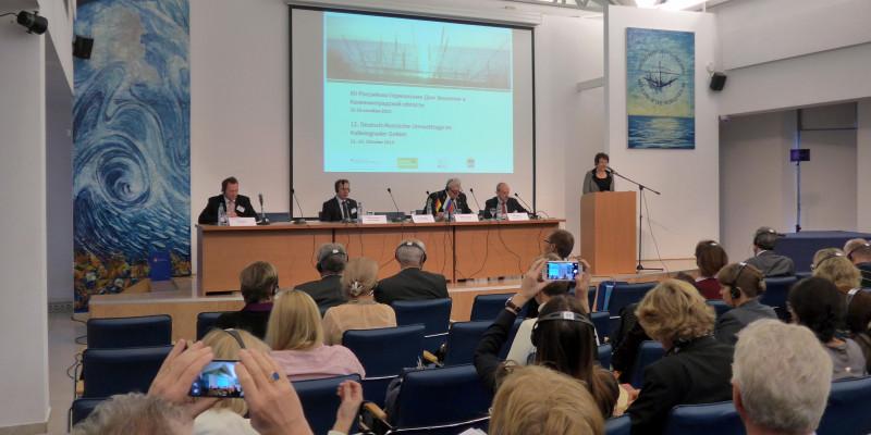 Vortrag während der 12. Deutsch-Russischen Umwelttage