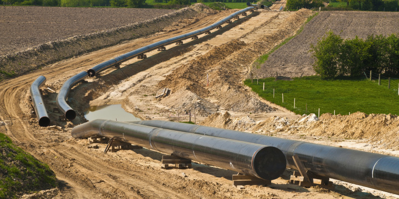 construction of a pipeline