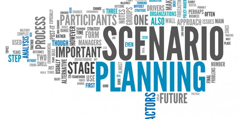 Wortwolke Scenario Planning