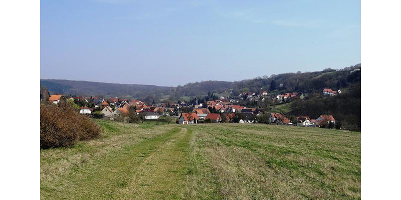 Blick auf Pölsfeld.