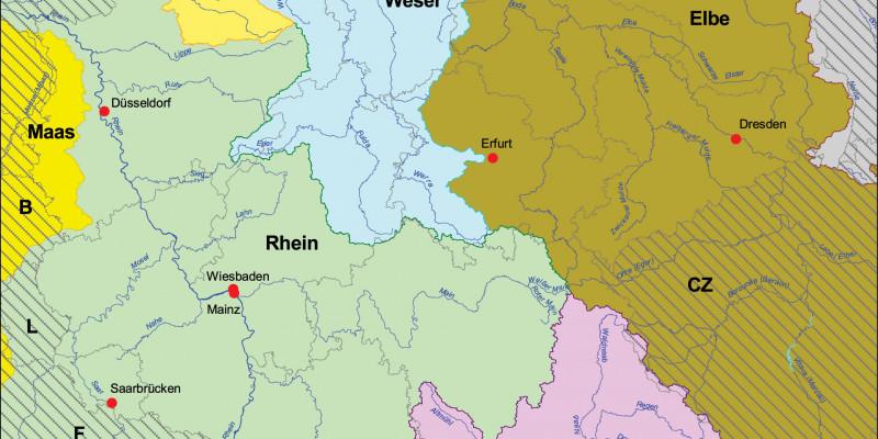 Flussgebietseinheiten in der Bundesrepublik Deutschland