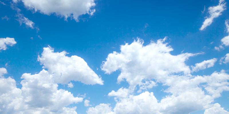 Cumulus Wolken