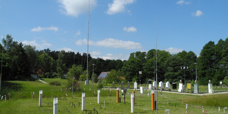 Neuglobsow air monitoring station