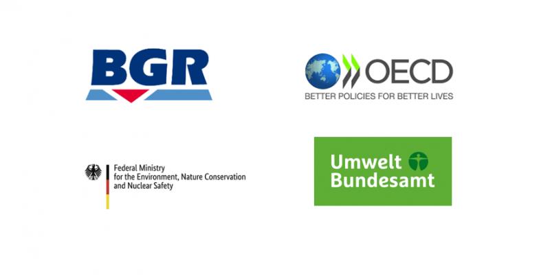 Logos BGR, OECD, BMU, UBA