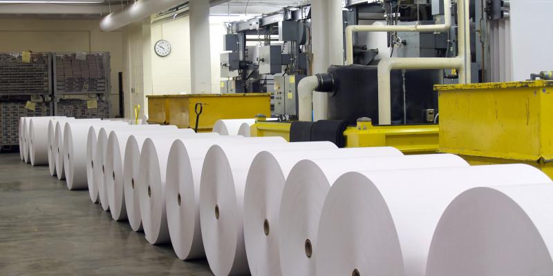 Auch in der Papierindustrie werden PFC verwendet.