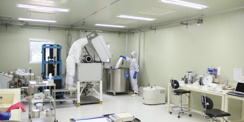 Sample Crushing Chamber at National Institute of Environmental Sciences (NIER)