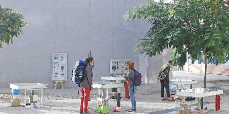 Ausstellung WERT/voll im Forum des UBA in Dessau-Roßlau