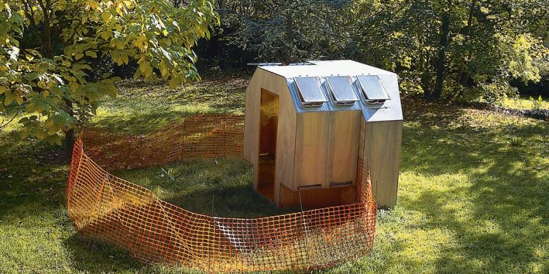 Bienenhaus in der Natur