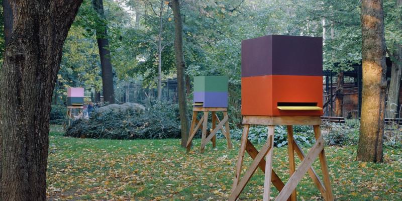 Entwurf des Bienenhauses von Sauerbruch Hutton