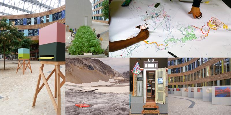 Collage verschiedener Projekte