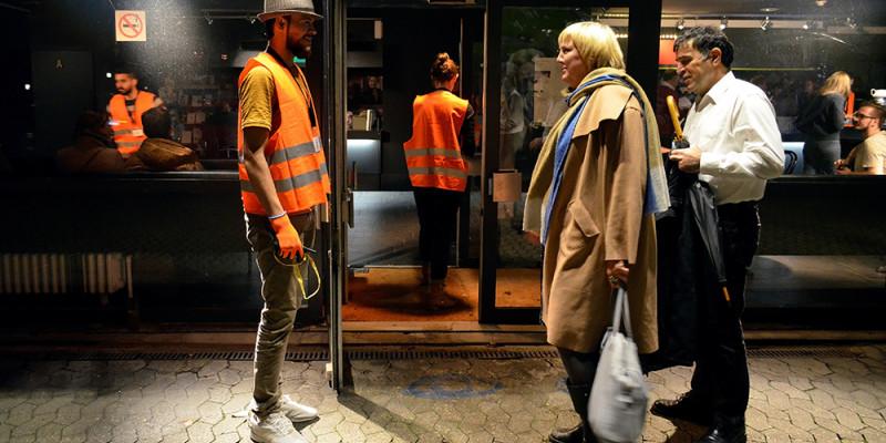 Begrüßung der Bundestagsvizepräsidentin Claudia Roth