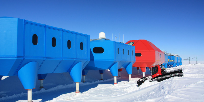 The Halley VI base operated by Great Britain