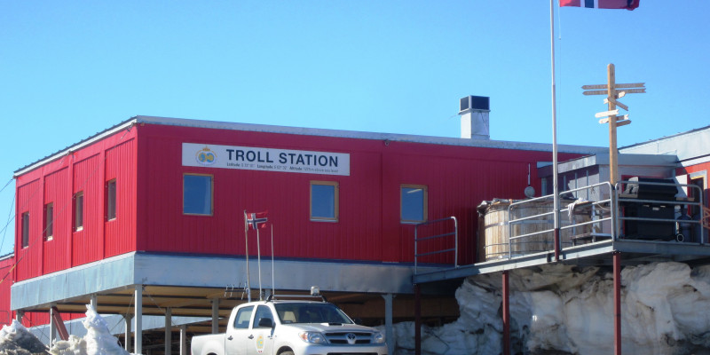 Norway's Troll station