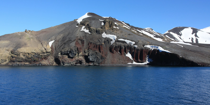 Different types of rock formation hint at the eventful history of Antarctica.