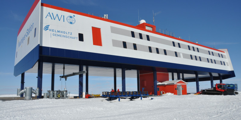 The german Research Station Neumayer 3
