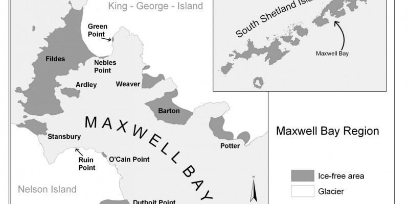 Map of Maxwell Bay Region